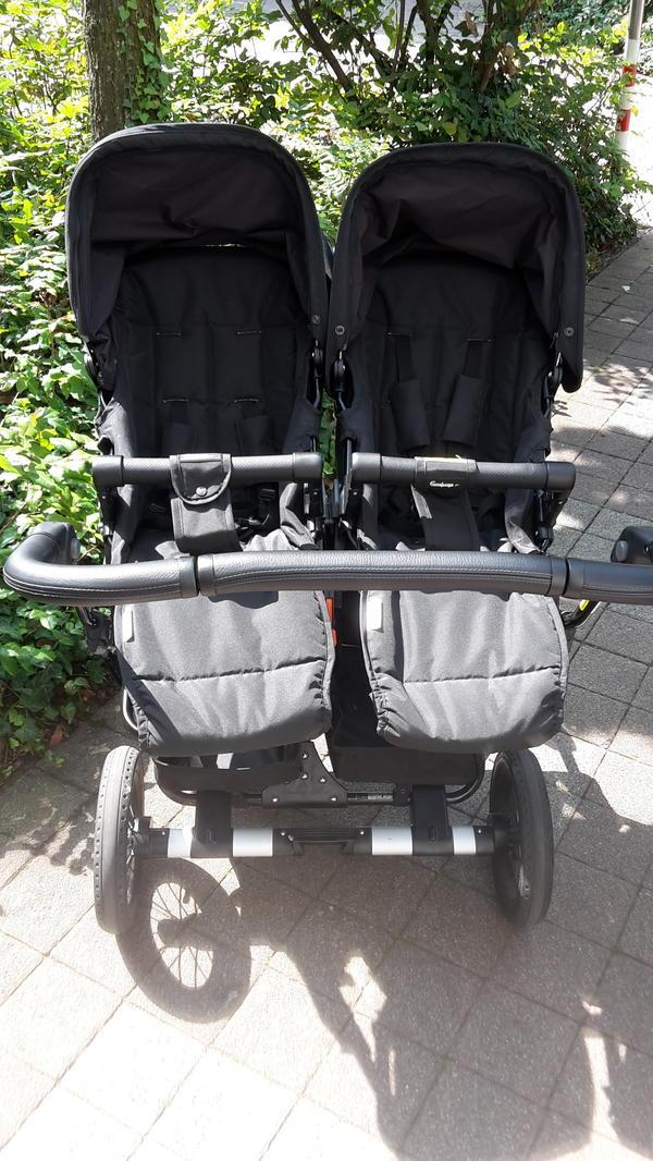 Fast neu Geschwisterwagen Zwillingswagen - Emmaljunga