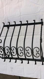 Fenstergitter gitter einbruchschutz schmiedeeisen in n rnberg sonstiges material f r den - Gitter fenster einbruchschutz ...