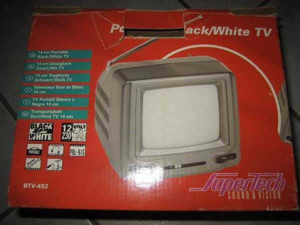 Fernseher Super Tech BTV-452 tragbar