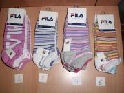 FILA Damen Kinder Socken Sneaker