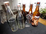 Flaschen alte Bügelflaschen