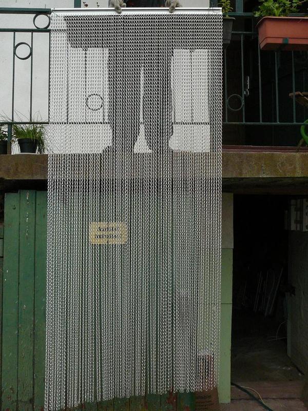 fliegenvorhang aluminium in erbach gardinen jalousien kaufen und verkaufen ber private. Black Bedroom Furniture Sets. Home Design Ideas