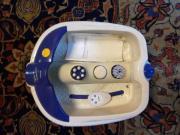 Fußmassage- und Luftsprudelbad