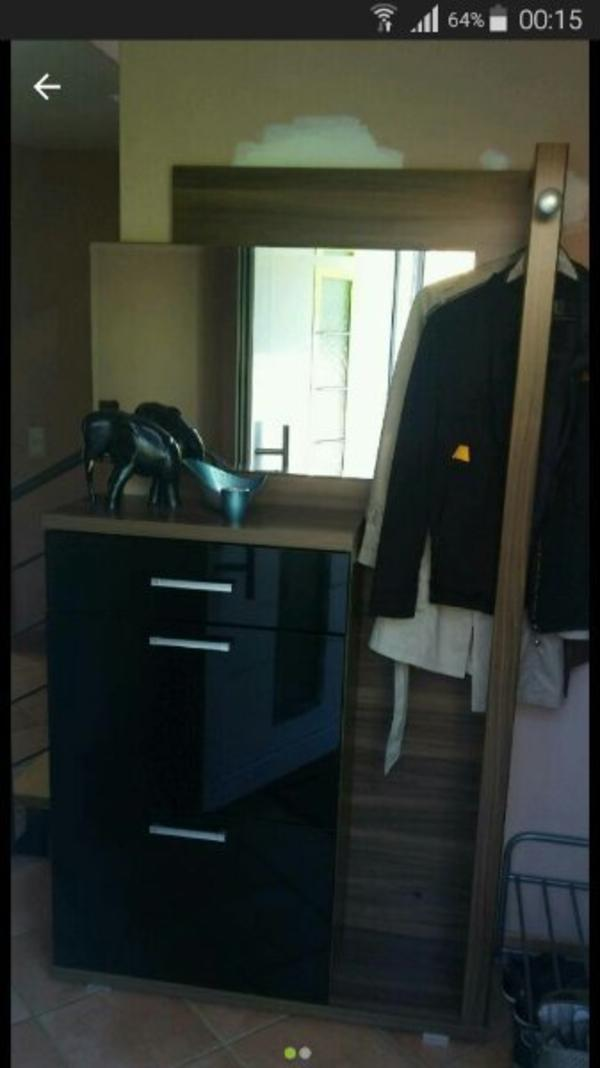 garderobe spiegel gebraucht kaufen nur 4 st bis 65. Black Bedroom Furniture Sets. Home Design Ideas