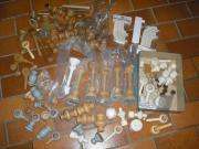 Gardinenstangen Teile Endkappen Konvolut neu