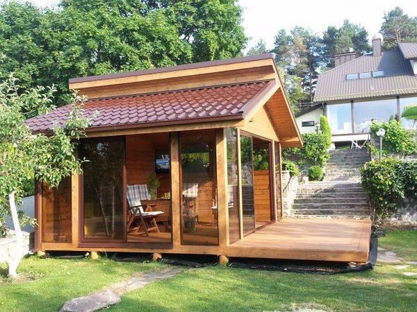 gartenhaus sommerhaus bbq haus grillhaus gartensauna in baden baden sonstiges f r den. Black Bedroom Furniture Sets. Home Design Ideas