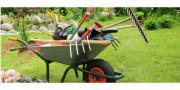 Gartenhilfe-Gartenhelfer-Gartenarbeit -