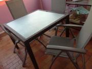 Gartentisch mit 4