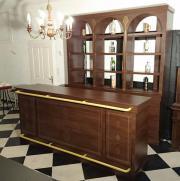 Gastromöbel, Bar, Apotherkerschrank,