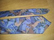 gemusterte Krawatte Schlips