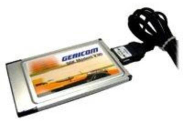 Gericom 56k Fax Modem PCMCIA