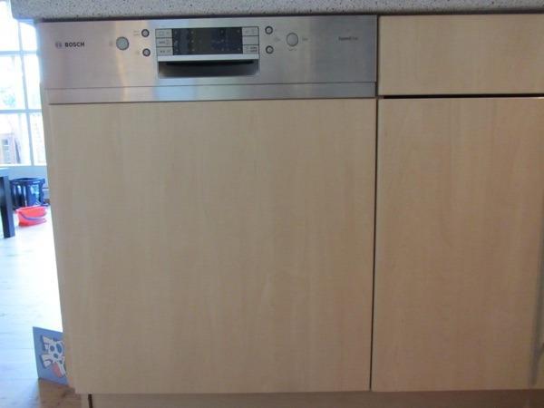 Bosch spülmaschine teilintegriert