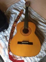 Gitarre mit passender