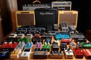 Gitarrenverstärker und Pedale