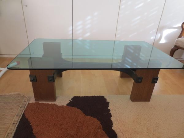 holz glastisch neu und gebraucht kaufen bei. Black Bedroom Furniture Sets. Home Design Ideas