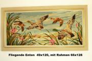 Gobelin Wandbild Fliegende Enten