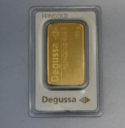 Goldbarren 100g Degussa