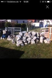 Granit Steine Blöcke