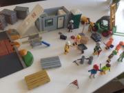 große Playmobil BAUSTELLE,