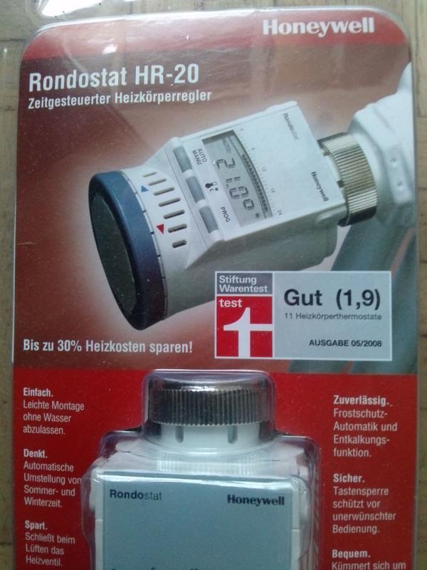 Heizkörperregler, Thermostat, Honeywell, » Öfen, Heizung, Klimageräte