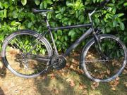Herren Fahrrad Schwarz