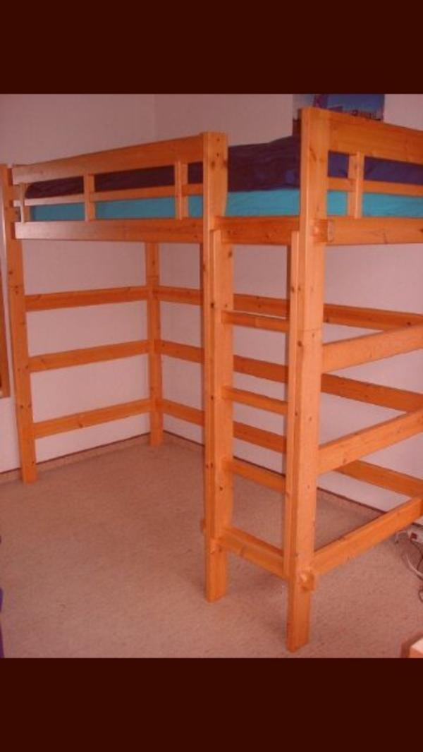 hochbett 180x200 ikea malm bett komplett mit bettbezug und ger umigen dass with hochbett. Black Bedroom Furniture Sets. Home Design Ideas