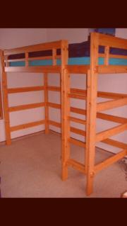 hochbett fuer erwachsene haushalt m bel gebraucht und neu kaufen. Black Bedroom Furniture Sets. Home Design Ideas