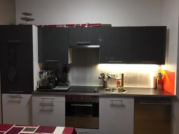 Hochglanz Ikea Küche Inkl. Elektrogeräte In Fürth - Küchenzeilen