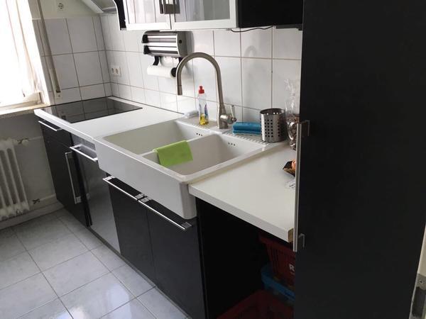 hochwertige komplett Ikea Küche incl Elektrogeräte und Kühlschrank ...