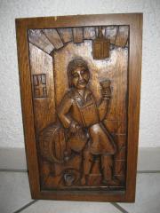 Holzbild, Relief, Bild