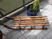 Holzrodel antik von ABT Vintage