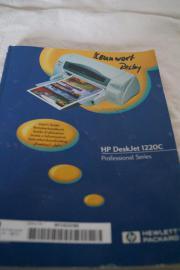HP DeskJet 1220C -