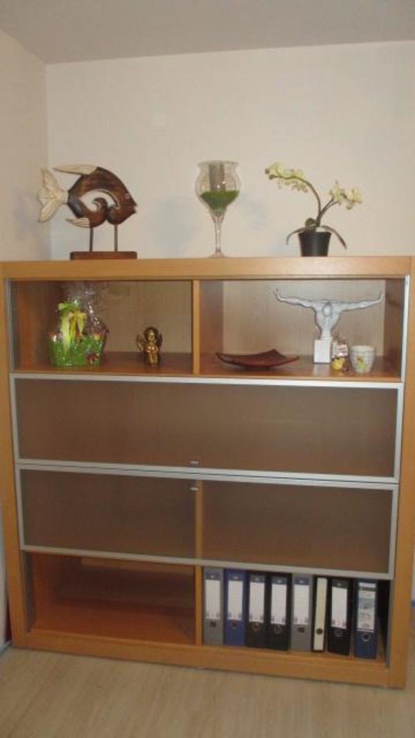 Hülsta Highboard Sideboard TV Schrank hochwertig modern Geschirrschrank Esszimmer Schiebetüren ...