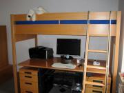 huelsta hochbett haushalt m bel gebraucht und neu. Black Bedroom Furniture Sets. Home Design Ideas