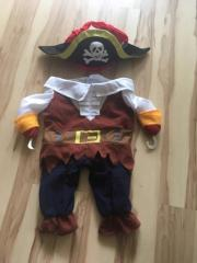 Hundekostüm Pirat