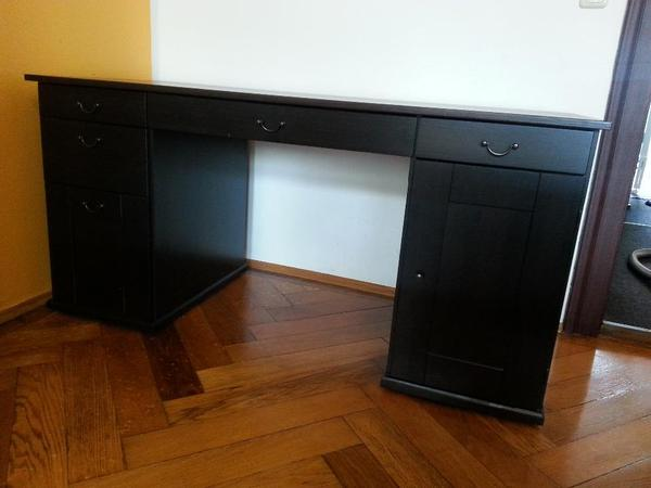 eckschreibtisch ikea hemnes. Black Bedroom Furniture Sets. Home Design Ideas