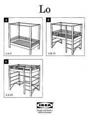 ikea lo hochbett kinderbett jugendbett himmelbett in seefeld kinder jugendzimmer kaufen und. Black Bedroom Furniture Sets. Home Design Ideas