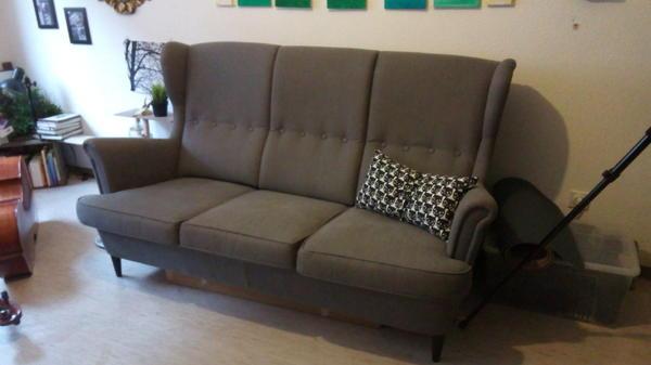 Amazing Cheap Ikea Sofa Strandmon Polster Sessel Couch With Couch Zum  Ausziehen With Sofa Zum Ausziehen