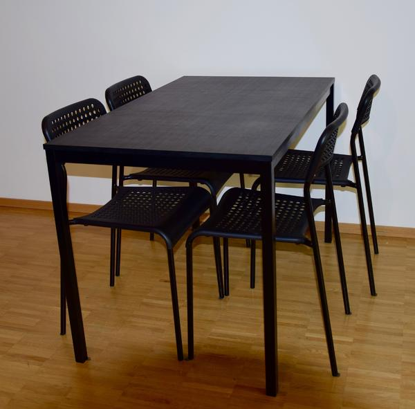 Ikea TÄRENDÖ Tisch Inkl 4 Ikea ADDE Stühlen In Bludenz