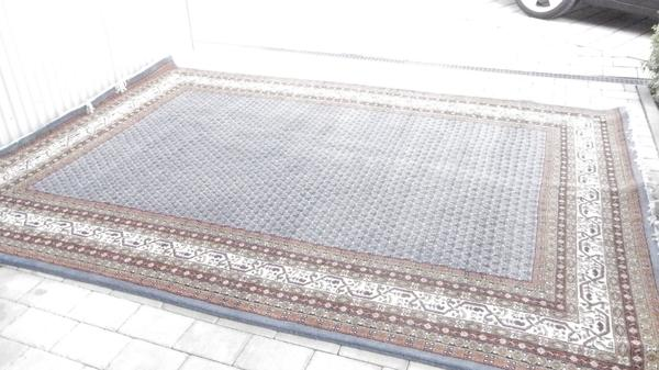 Orientteppich blau  Indischer Orientteppich, blau in Postbauer-Heng - Teppiche kaufen ...