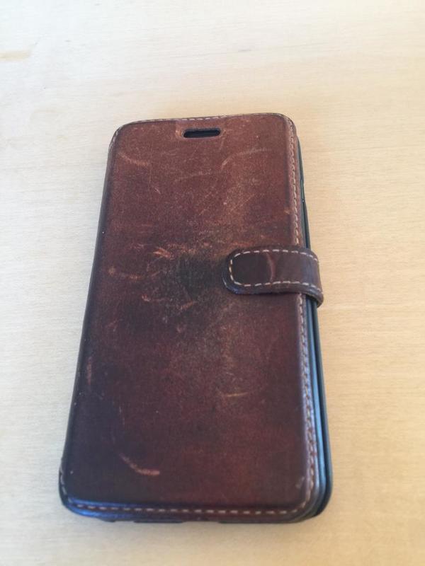 Iphone 6 Lederhülle HAMA
