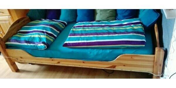 jugendbett ohne lattenrost ankauf und verkauf anzeigen. Black Bedroom Furniture Sets. Home Design Ideas