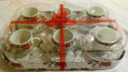 Kaffetassen Espresso Tassen versch Muster