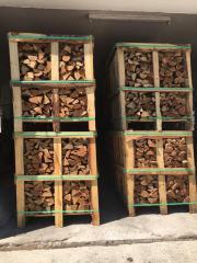 Kammergetrocknetes Buchenbrennholz