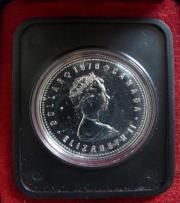 KANADA 1 DOLLAR 1978 SILBER
