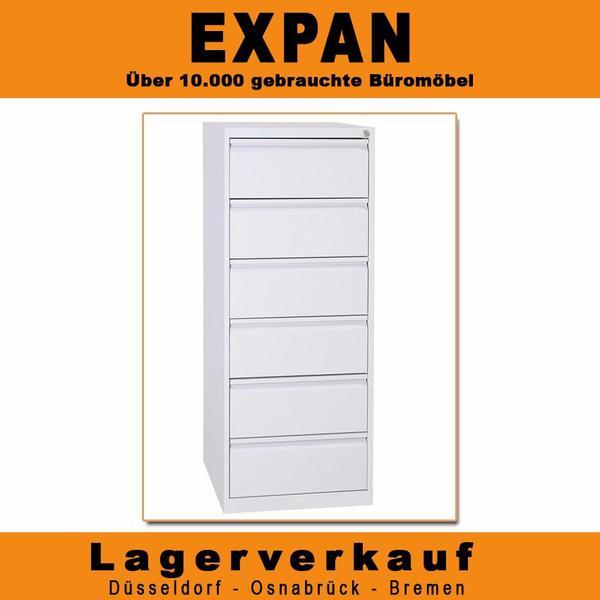 Karteischrank GK, Stahl-Schubladenschrank, Büromöbel in Osnabrück ...