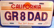 Kennzeichen (Kalifornien)