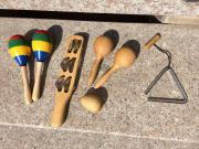 Kinder Rhythmus-Instrumente