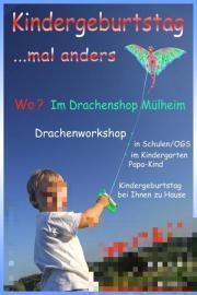 Kindergeburtstag Drachenshop Mülheim an der