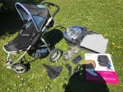 Kinderwagen + Babywanne